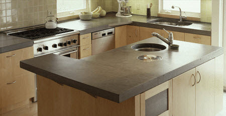 Unusual Materials For Your Kitchen Countertops