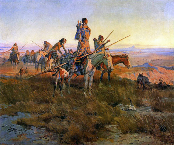 In-the-Wake-of-the-Buffalo-Hunters-Charles-Russell-1911.jpg