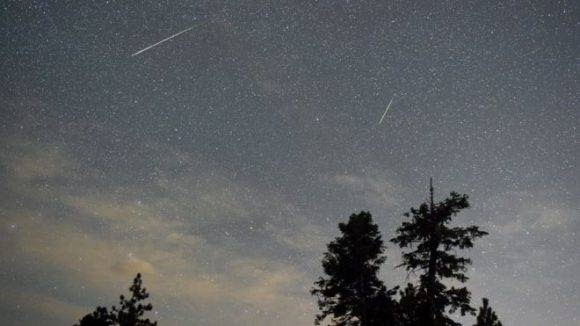 En el cielo se podrán apreciar estrellas fugaces en grandes cantidades. Foto: Getty.