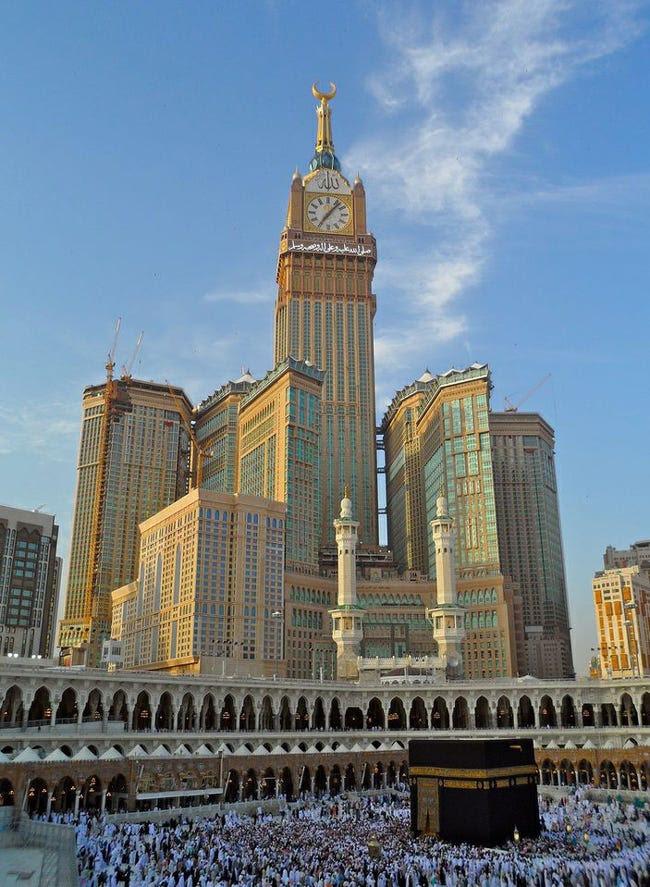 #4 Makkah Clock Royal Tower — Makkah, Saudi Arabia. Height (when completed): 1,971.78 feet