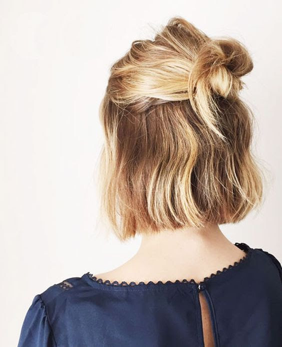 15 Hairstyle  Ideas to Inspire Your Half Buns Pretty Designs