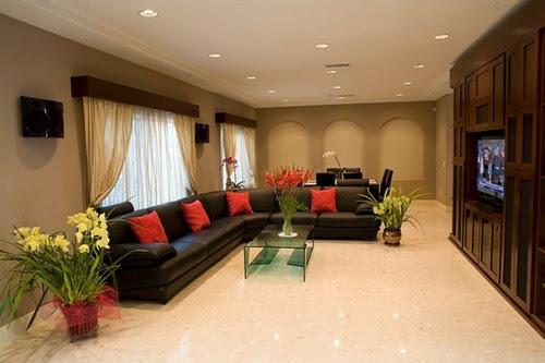 Elegant Minimalist Modern Living Room Decorating Ideas ...