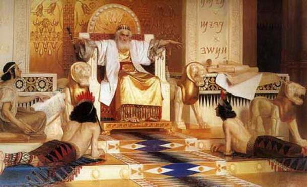 """""""Vanità delle vanità, tutto è vanità.""""  Vecchio e meditativo re Salomone di Isaak Asknaziy."""