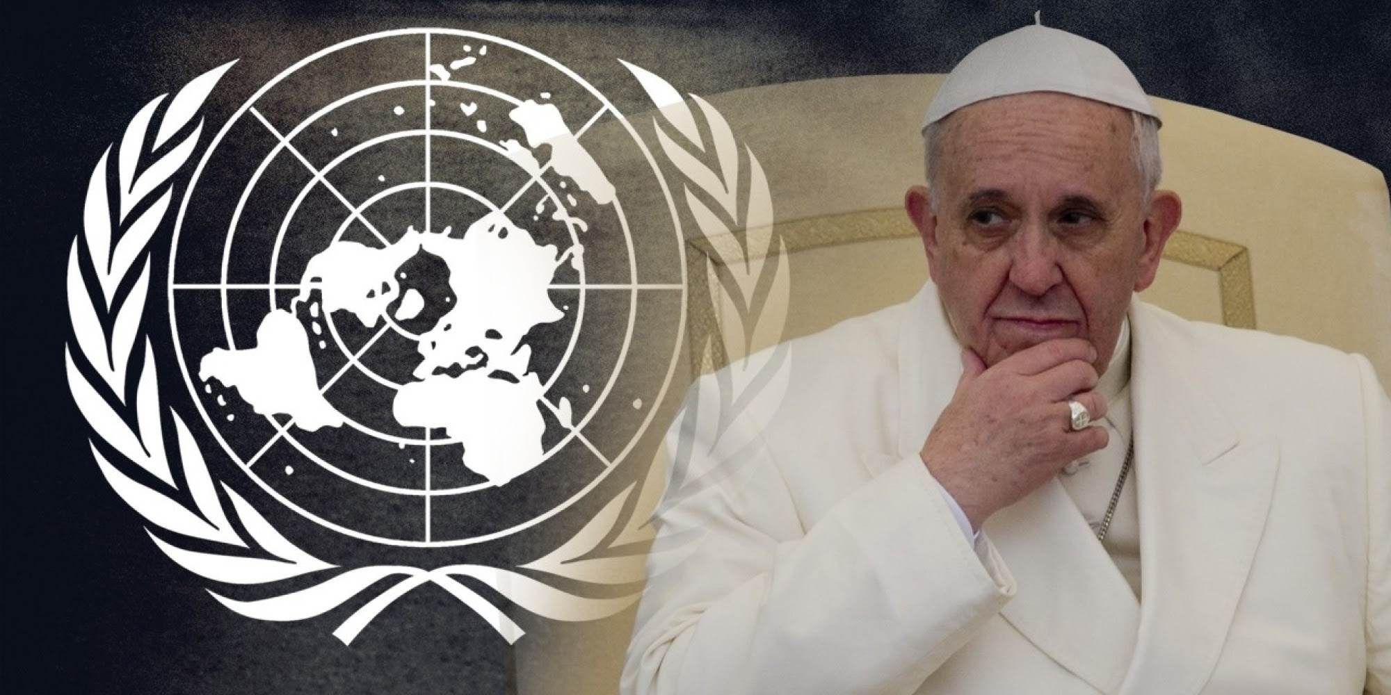 What will the Pope tell the world when he addresses the United Nations next month?
