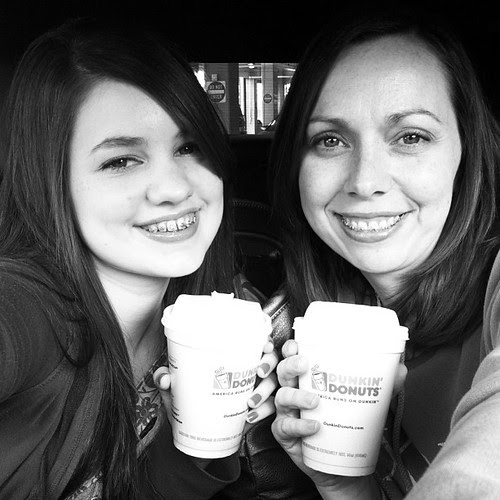 Downtown #nashville today. @tymcawesome is at Lipscomb for cadaver lab. Hitting Trader Joe's and Whole Foods with my girl @magpie26 while we wait. #homeschool