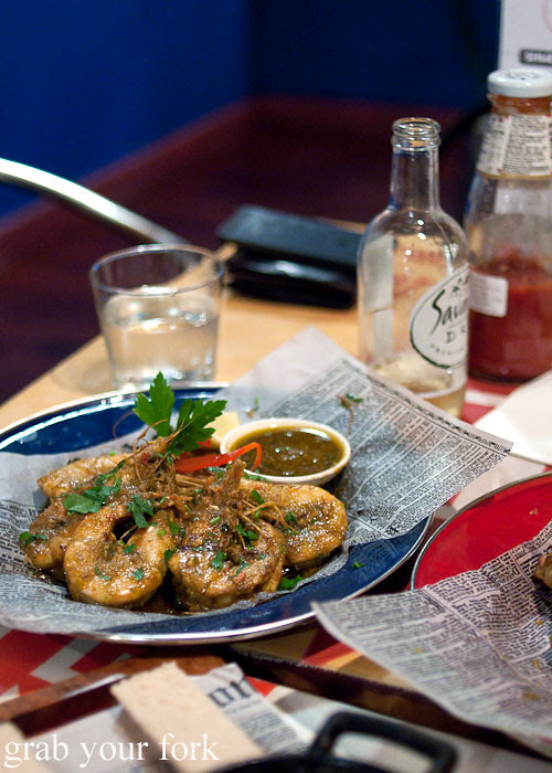 luckys lm prawns at lucky tsotsi south african street food darlinghurst