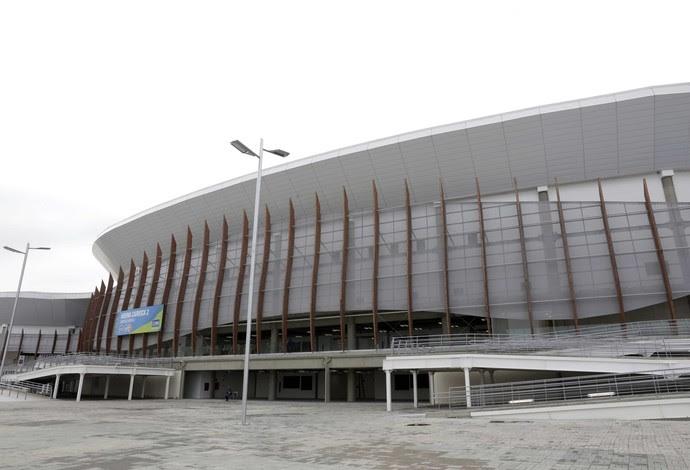 Inauguração da Arena Carioca 2, Olimpíadas Rio 2016 (Foto: PAULA JOHAS / PREFEITURA DO RIO)