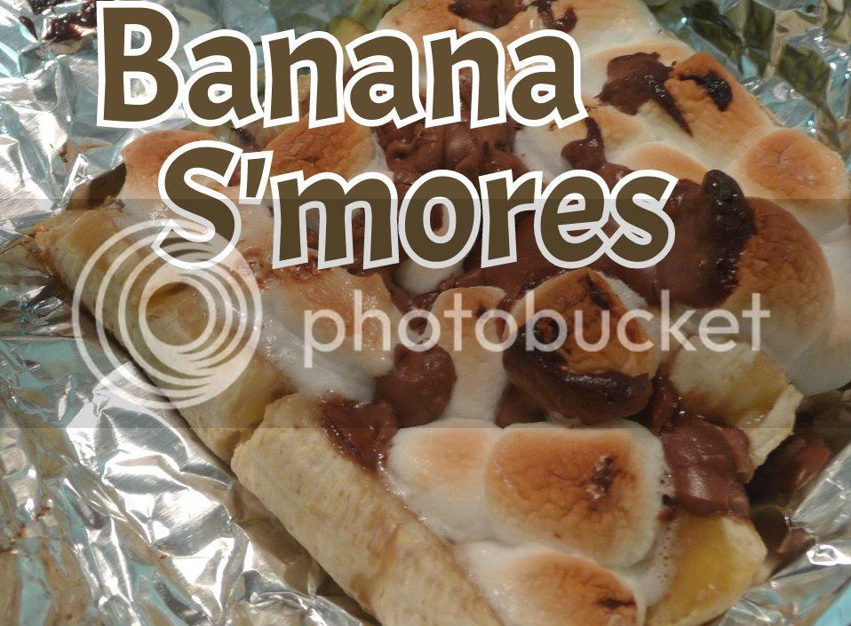 gluten free banana smores