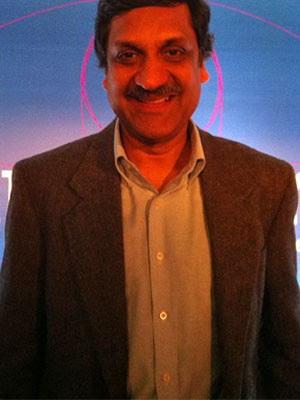 Anant Agarwal, presidente do edX, durante evento em São Paulo, na quinta-feira (4) (Foto: Ana Carolina Moreno/G1)