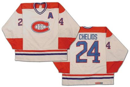Montreal Canadiens 88-89 jersey