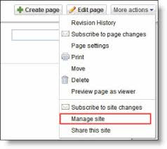 Manage Site - Google Sites website - Ali Khan Blogs (AKBlogs.com)
