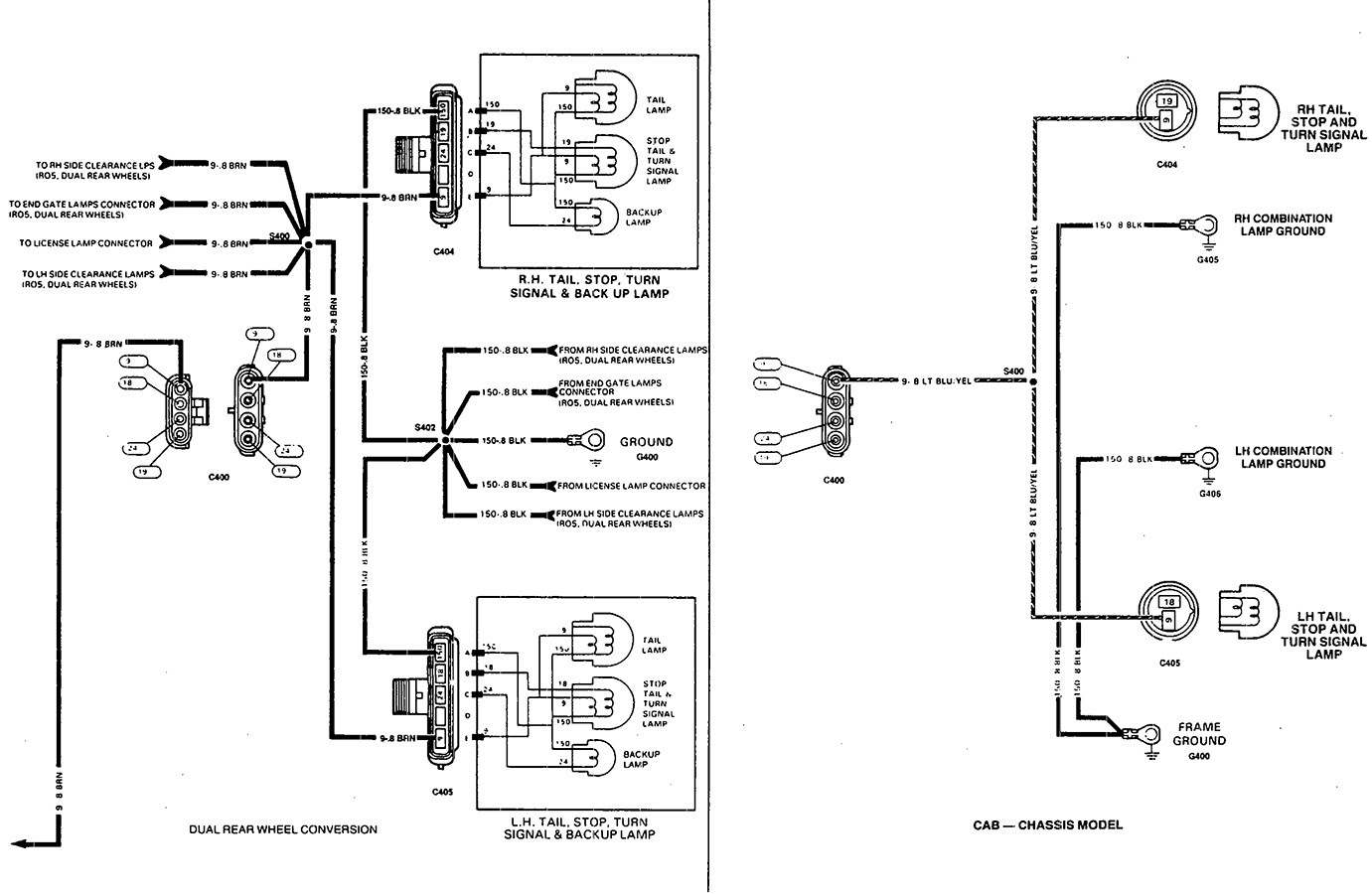 Chevy Silverado Tail Light Wiring Diagram - Wiring Diagramcars-trucks24.blogspot.com