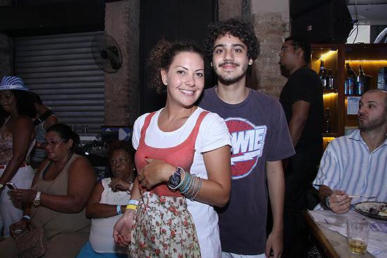 Fabíula Nascimento e o agora ex-namorado, Geroge Sauma, dez anos mais novo do que ela. Foto: Alex Palarea/AgNews