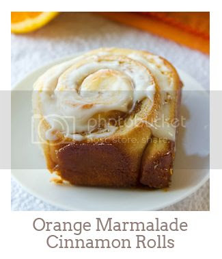 """Orange Marmalade Cinnamon Rolls"""