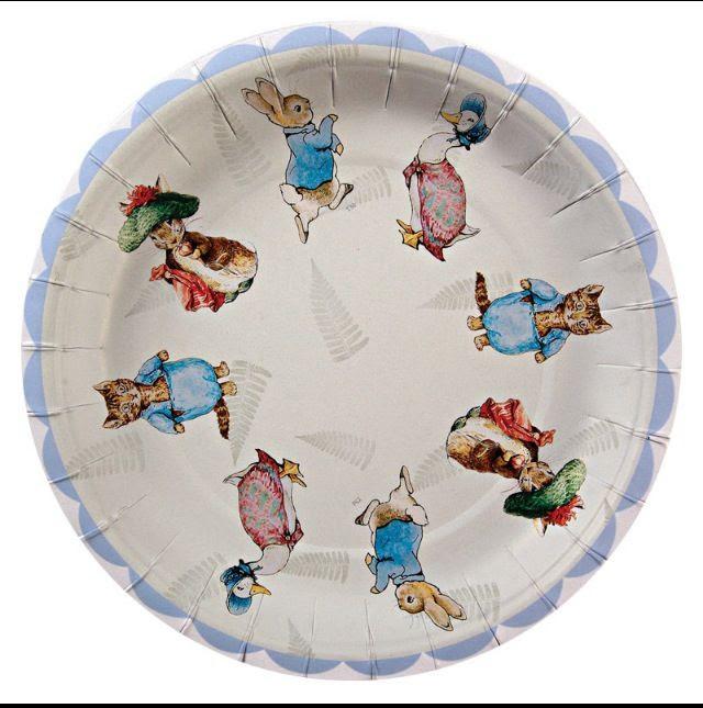 Beatrix potter plates