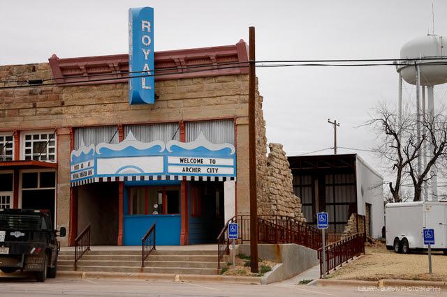 Royal Theater In Archer City Tx Cinema Treasures