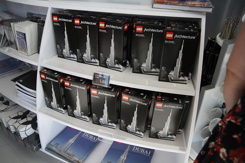 Lego Burj Khalifa being sold