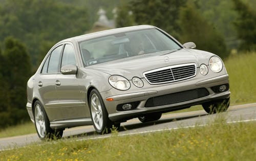 Used 2003 Mercedes-Benz E-Class E55 AMG Pricing & Features ...