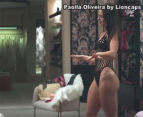 Paolla Oliveira super sensual na novela Dona do Pedaço