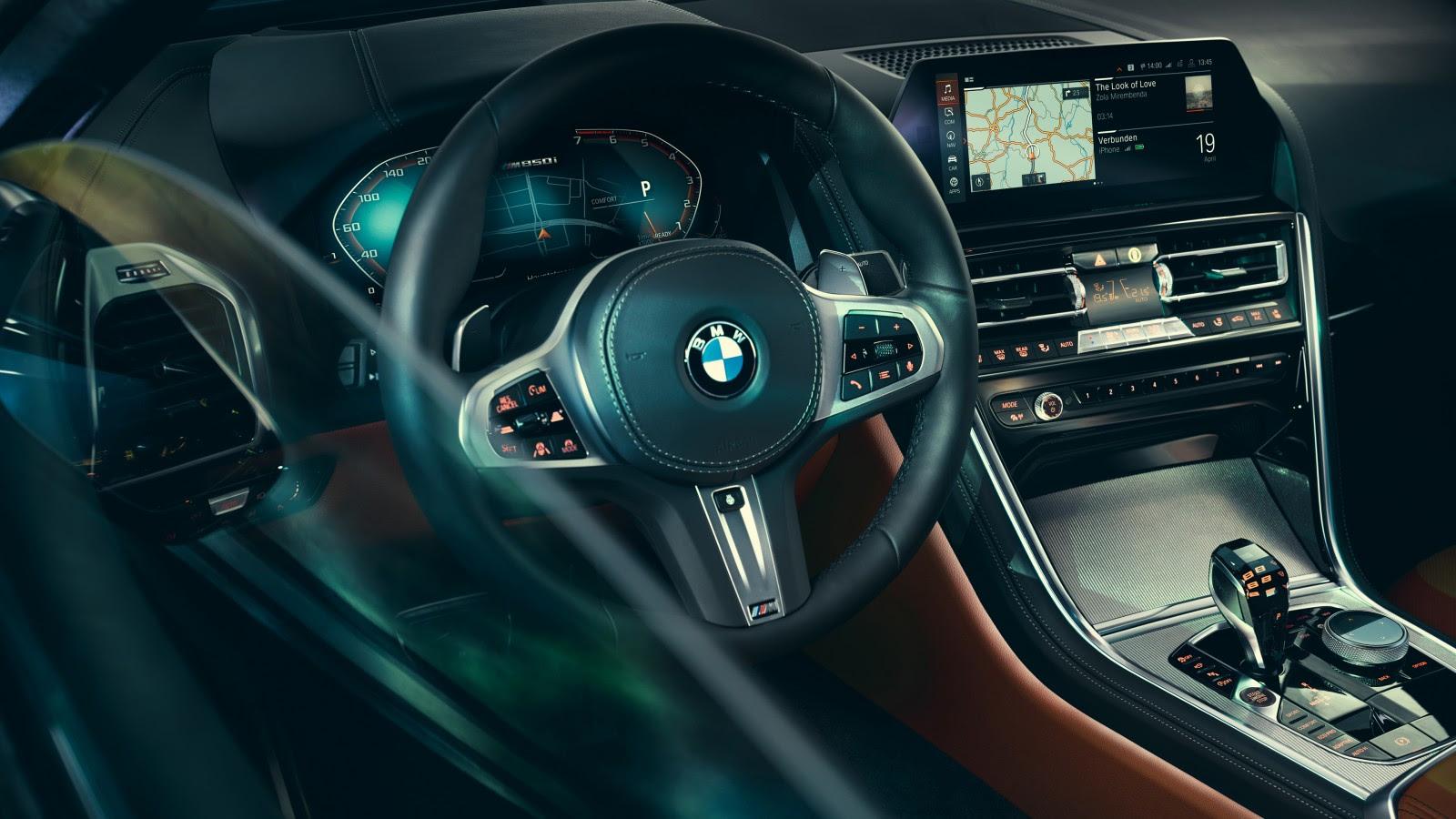 BMW 8 Series 2019 4K Interior 4K Wallpaper | HD Car ...