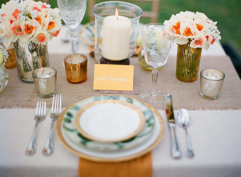 Burlap table accessories car image gorgeous wedding reception tablescape outdoor wedding burlap junglespirit Image collections