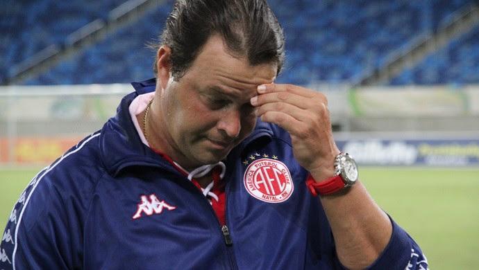 Roberto Fernandes - América-RN x Vitória - Arena das Dunas (Foto: Fabiano de Oliveira)