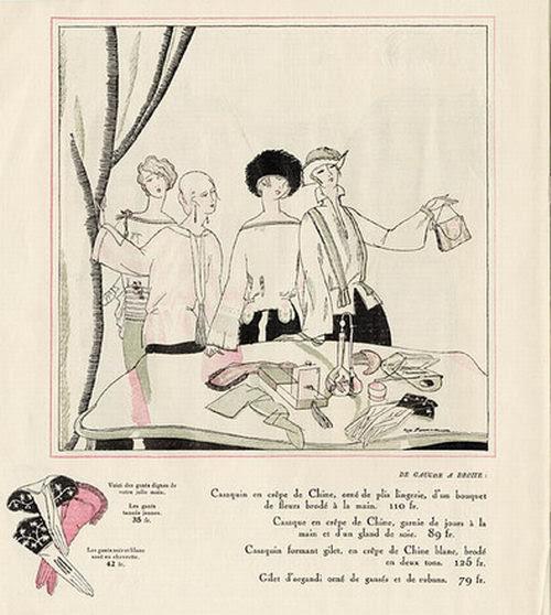 Zyg Brunner, Les Modes Elegantes, 1922