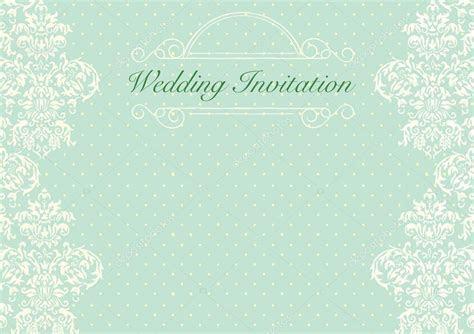 Mint Green wedding invitation background ? Stock Vector