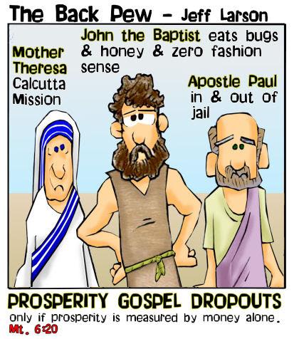 Image result for prosperity gospel cartoons