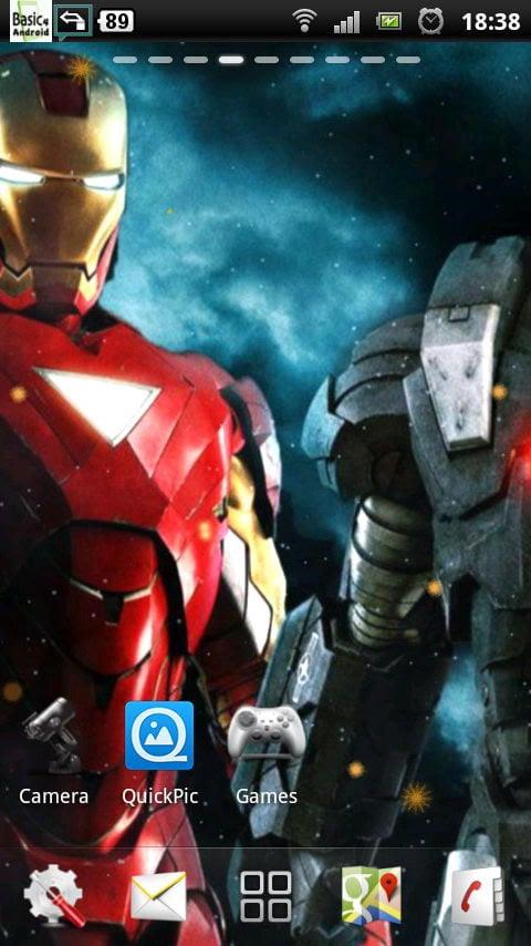 Iron Man 3 Live Wallpaper Download