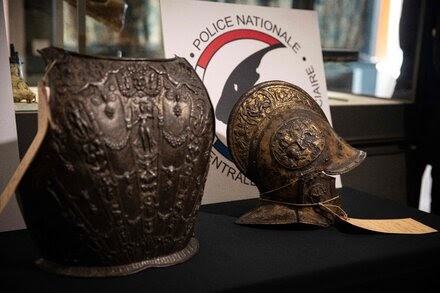 The Louvre Recovers Armor Pieces Stolen Nearly 40 Years Ago