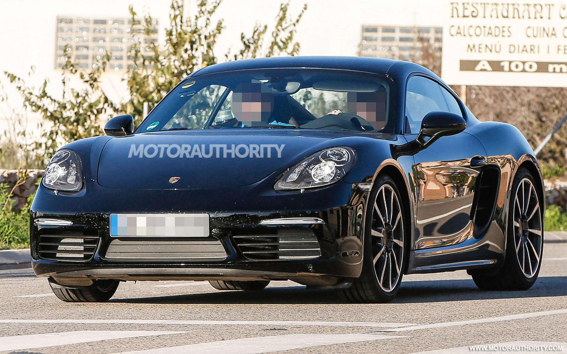 2017 Porsche Cayman Spy Shots And Video