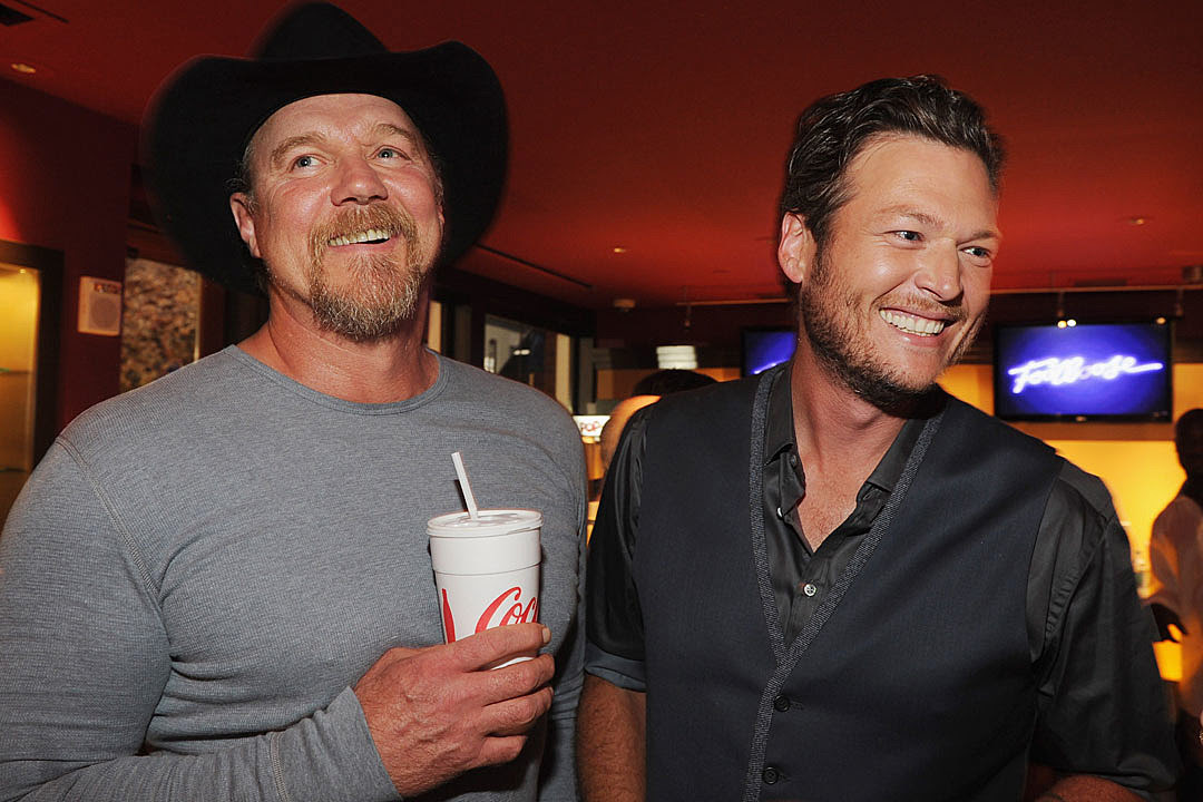 Image result for blake shelton and trace adkins