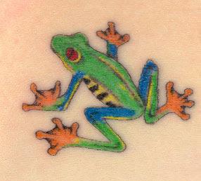 Tribal Tattoo Frog