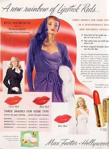 03.02.09 {1947 lipstick ad} by elegant musings.