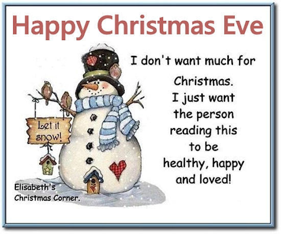 Image result for christmas eve quotes
