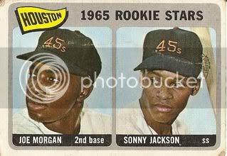 #16 Astros Rookies: Joe Morgan and Sonny Jackson