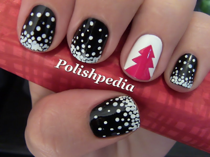 Easy Christmas Nail Art Tutorials 2013 2014 X Mas Nails Girlshue