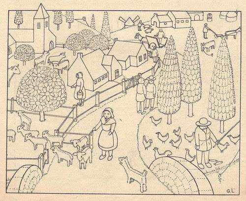 village de bois