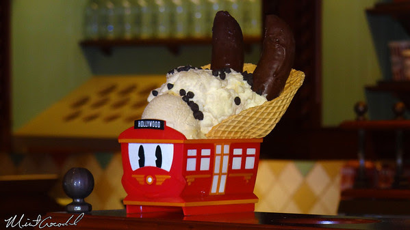 Disneyland Resort, Disney California Adventure, Buena Vista Street, Ice Cream Sundae