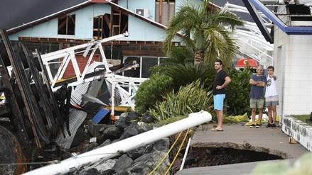 Así fue el destructivo paso del ciclón Debbie por Australia