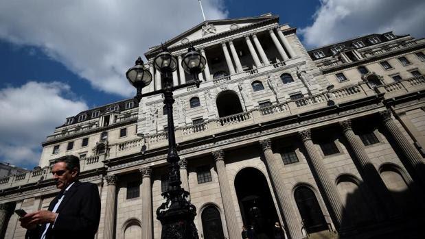 Sede del Banco de Inglaterra en la City de Londres