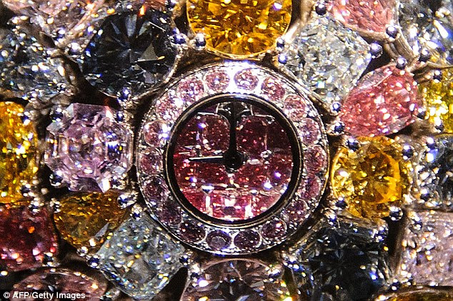 This new watch - believed to be the world's most expensive - is proof that time really is money