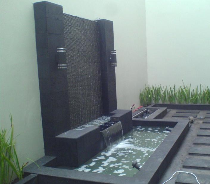 14 Terkini Gambar Taman Minimalis Air Terjun
