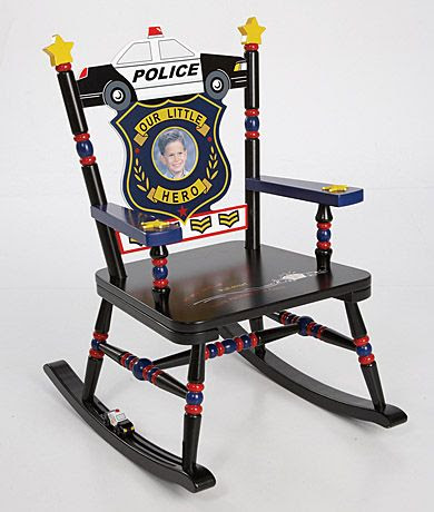 Policeman Rocking Chair