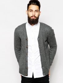 Asos Lambswool Rich Cardigan
