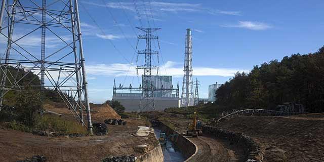 Vista general de la central nuclear de Fukushima, en una imagen del pasado noviembre. | Efe