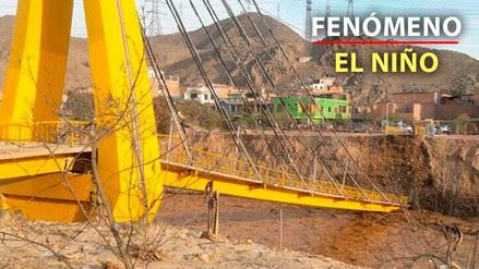 Geólogo afirma que el colapsado puente Talavera no tenía defensas