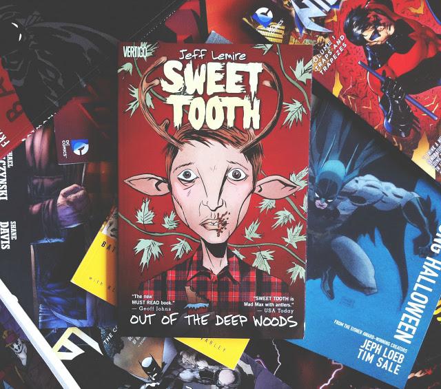 sweet tooth jeff lemire graphic novel review uk lifestyle blog