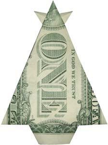 Money Origami Fish Instructions | How to Fold a Dollar Bill Fish ... | 300x224
